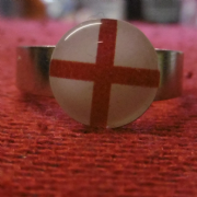 England Flag Ring